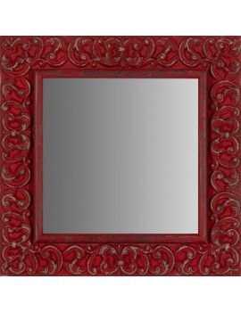 Artesana Vintage Decapé Rojo
