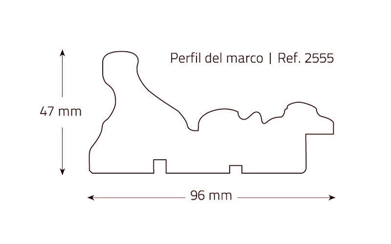 Barroco Negro Rozado - Perspectiva10